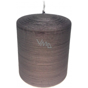 Lima Alfa candle light brown cylinder 80 x 100 mm 1 piece
