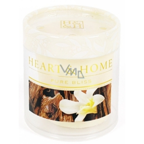 Heart & Home Sandalwood and vanilla Soy scented candle without packaging burns for up to 15 hours 53 g
