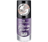 Essence peeling lacquer Glitter on Glitter 04