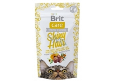 Brit Care Cat Snack Shiny Hair Salmon Dainty semi-soft supplement for cats 50 g