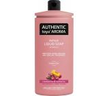 Authentic Toya Aroma Cranberries & Nectarine liquid soap refill 600 ml
