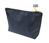 Natalia Angers Cosmetic handbag with zipper large blue 28.5 x 18.5 x 7.5 cm NA02