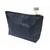 Natalia Angers Cosmetic handbag with zipper large blue 28.5 x 18.5 x 7.5 cm NA02