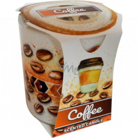 Admit Verona Coffee - Coffee scented candle in glass 90 g