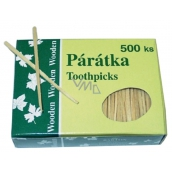 Bartoň Flat toothpicks 500 pieces