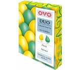 Ovo Liquid duo colors Green / Yellow 2 colors each 20 ml: 1 bag (20 ml)