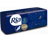 Ria Classic Night long intimate pads with wings 9 pieces