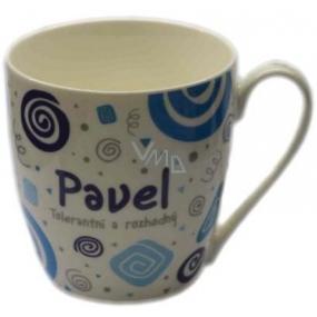 Nekupto Twister mug named Pavel blue 0.4 liter