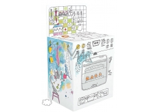 Monumi Stove Jigsaw puzzle for children 5+ height 75 cm
