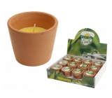 CANDLES Citronella terracotta 75x65mm 8258