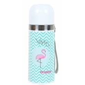 Thermos flask with flap Flame
