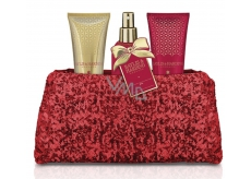 Baylis & Harding Fig and Pomegranate Shower Gel 100 ml + Hand & Body Milk 100 ml + Body Spray 100 ml + Red Flotta Bag Cosmetic Set