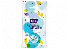 Bella Antibacterial wet wipes refreshing 10 pieces