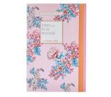Heathcote & Ivory Pinks & Pear Blossom perfumed paper 5 sheets