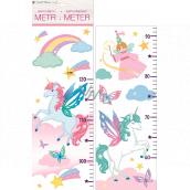 Wall stickers children's meter Unicorn up to 120 cm