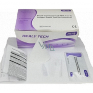 Realy Tech Novel Coronavirus SARS-Cov-2 Antigen Rapid Test Device saliva rapid test for coronavirus from saliva 5 pcs