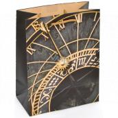 Nekupto Gift paper bag 23 x 18 x 10 cm Astronomical Clock 2008 01 KFM