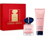 Giorgio Armani My Way perfumed water for women 30 ml + body lotion 75 ml, gift set