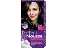 Schwarzkopf Perfect Mousse Permanent Foam Color barva na vlasy 300 Černohnědý