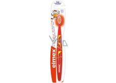 Elmex 3-6 let měkký zubní kartáček pro děti 1 kus