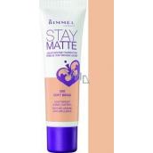 Rimmel London Stay Matte Liquid Mousse make-up 200 Soft Beige 30 ml