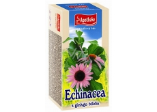 Apotheke Echinacea with ginkgo biloba tea for natural defenses, immune system and normal function of the respiratory system 20 x 1.5 g