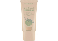 Deborah Milano Perfect & Natural Foundation SPF15 Makeup 00 Ivory 30 ml