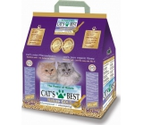 Cats Best Nature Gold lumpy wooden bedding, for long-haired cat breeds 10 l