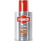 Alpecin Tuning Black caffeine shampoo against hair loss stains gray 200 ml