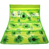 Pocket for hanging green 59 x 36 cm 3 pockets 715