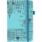 Albi Diary 2020 pocket with elastic City 15 x 9,5 x 1,3 cm