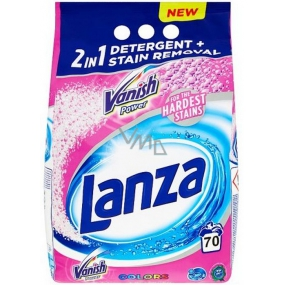 Lanza Vanish Power Colors 2in1 washing powder for colored laundry 70 doses of 5.25 kg