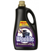 Woolite Darks Black & Denim liquid detergent with keratin for dark and black laundry 60 doses of 3.6 l