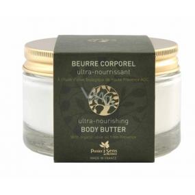Panier des Sens Oliva nourishing body butter in glass 200 ml