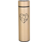 Albi Thermo bottle Heart gold matt 500 ml