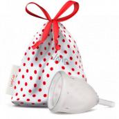 LadyCup Menstrual cup transparent, small S + Milton sterilization tablets