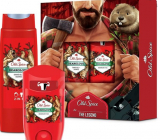 Old Spice BearGlove Lumberjack antiperspirant deodorant stick 50 ml + 2in1 shower gel for body and hair 250 ml, cosmetic set for men