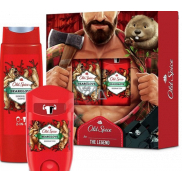 Old Spice BearGlove Lumberjack antiperspirant deodorant stick 50 ml + 2in1 shower gel for body and hair 250 ml, cosmetic set for men