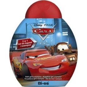 Disney Cars McQueen 2 in 1 bath shower gel and shampoo 250 ml