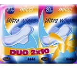 Micci Normal Ultra Wings intimate pads with wings Duo 2 x 10 pieces