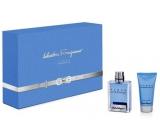Salvatore Ferragamo Acqua Essenziale Eau de Toilette 50 ml + Shower Gel 50 ml, gift set