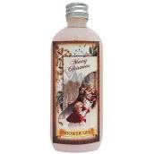 Bohemia Gifts & Cosmetics Honey and Grain Christmas Cream Shower Gel 100 ml