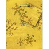 Nekupto Gift paper bag Christmas luxury golden hologram GS 045 01
