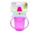 First Steps Mug with two handles pink 236 ml