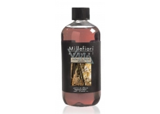 Millefiori Milano Natural Incense & Blond Woods - Incense and Light woods Diffuser refill for incense stalks 500 ml