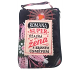 Albi Zippered bag in a handbag with the name Romana 42 x 41 x 11 cm