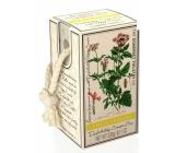Somerset Toiletry Lemon and Verbena luxury scrub soap on a string 230 g