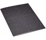 Ditipo Notebook Glitter Collection A4 lined black-silver 21 x 29 cm 3424002