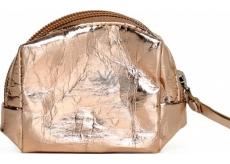 Albi Eco Mini Bag Made of Washable Paper Bronze 8 x 7.5 x 3 cm