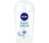 Nivea Fresh Natural antiperspirant deodorant stick pro ženy 40 ml